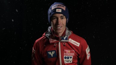 Weihnachtsgrüße Skispringer Männer